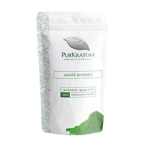 White Borneo kratom effects
