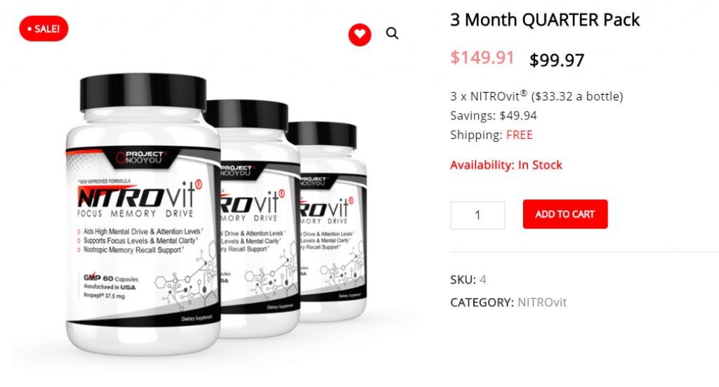 Nitrovit for sale