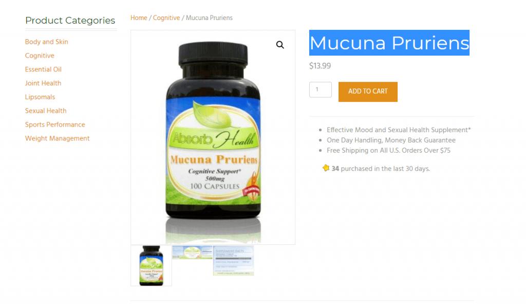 Mucuna Pruriens review