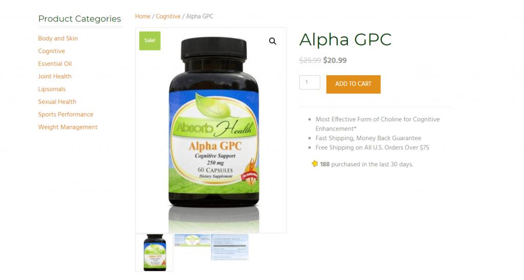 where to buy Alpha GPC